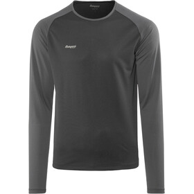Bergans Slingsby T-shirt à manches longues Homme, black/solid charcoal